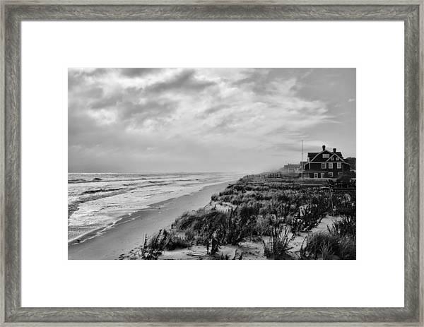 Mantoloking Beach - Jersey Shore Framed Print