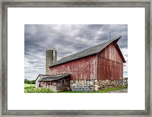 Maple Grove Farm Framed Print