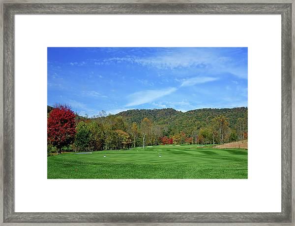 Maple Red Framed Print