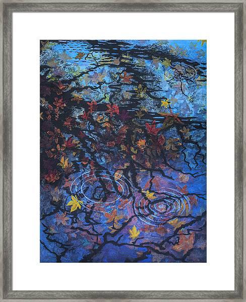 Maple Sky Framed Print