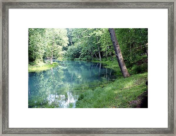 Maramec Springs 1 Framed Print