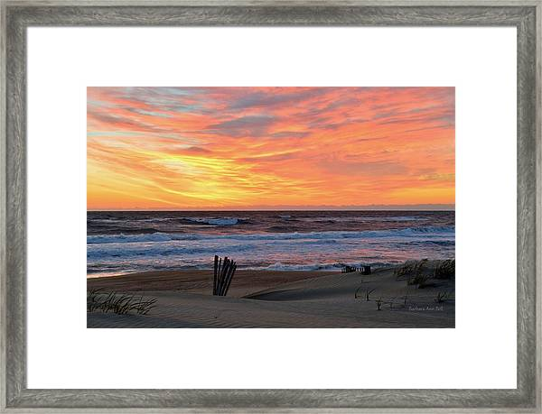 March 23 Sunrise  Framed Print