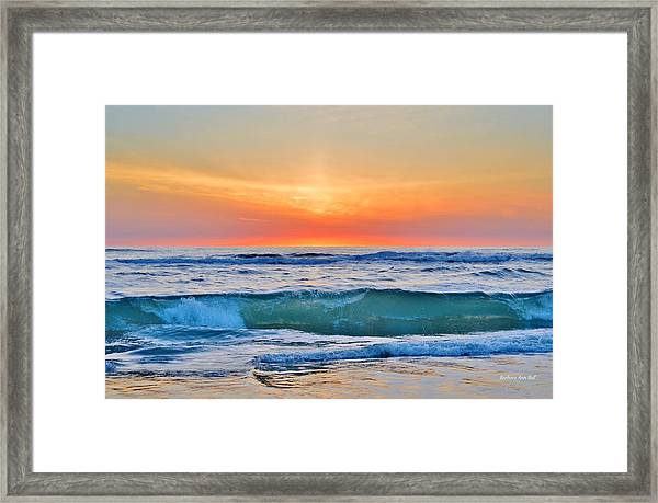 March Sunrise 3/6/17 Framed Print