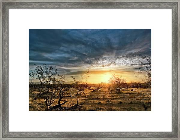 March Sunrise Framed Print