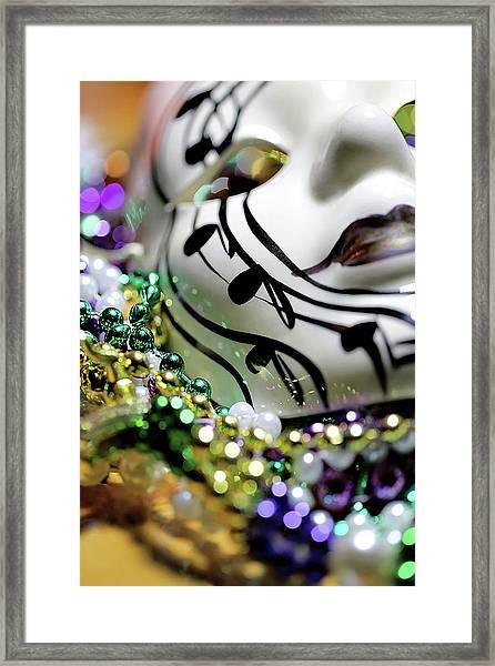 Mardi Gras I Framed Print
