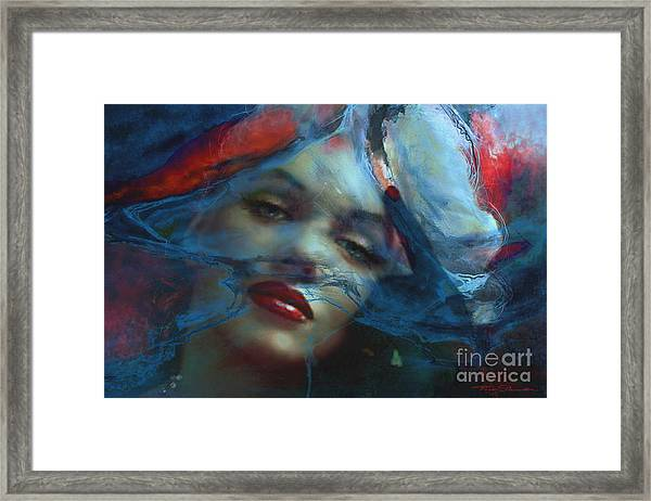 Marilyn 128 A 4 Framed Print