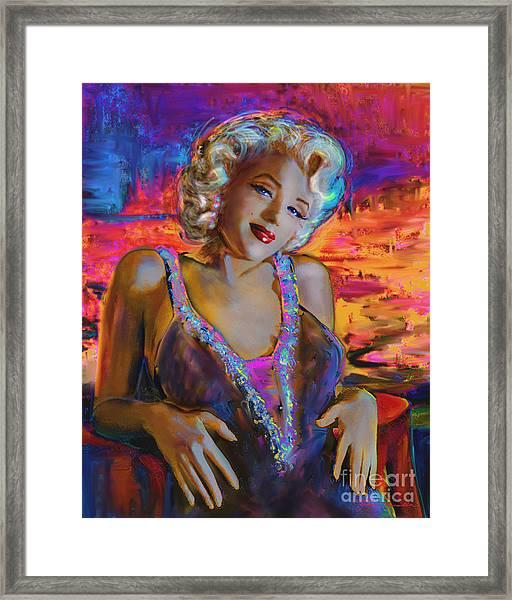 Marilyn Monroe 126 G Framed Print