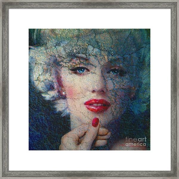 Marilyn Monroe 132 A Framed Print