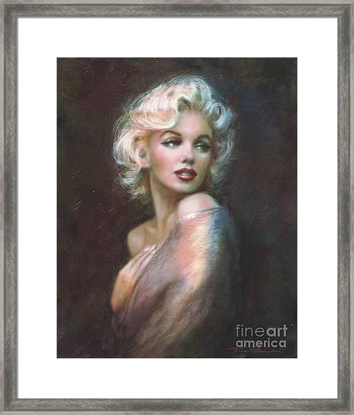 Marilyn Ww  Framed Print
