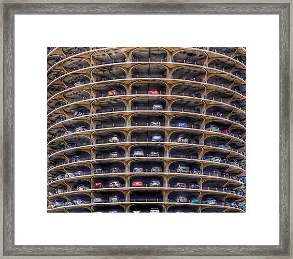 Marina City Chicago Framed Print