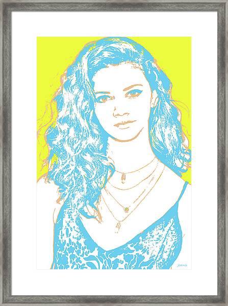 Marina Nery Pop Art Framed Print