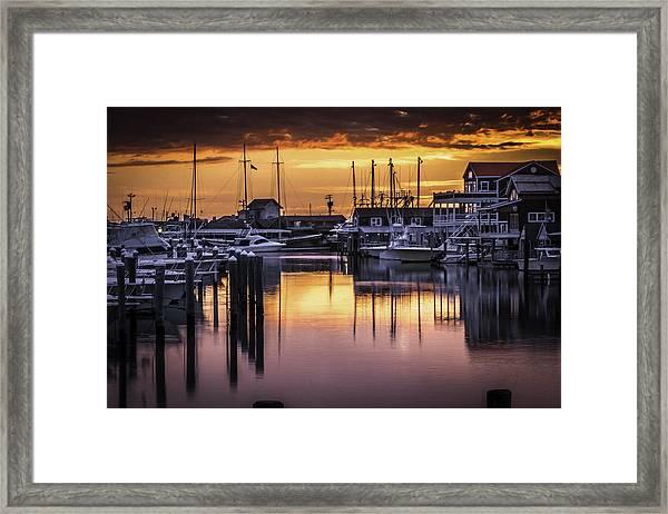 The Floating Sky Framed Print