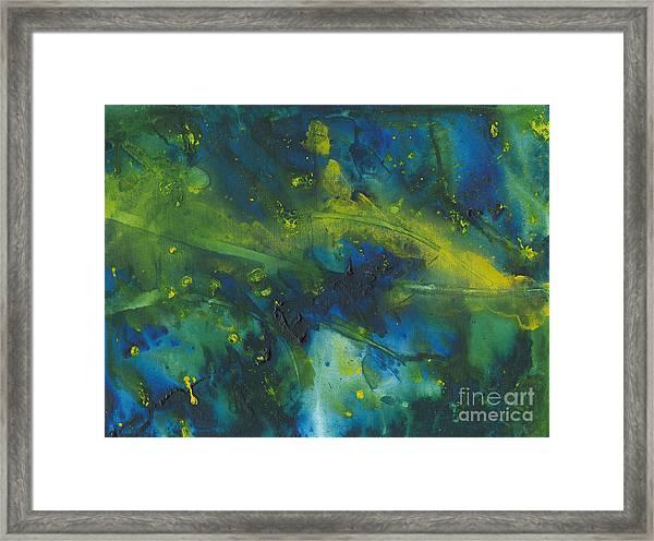 Marine Forest Framed Print