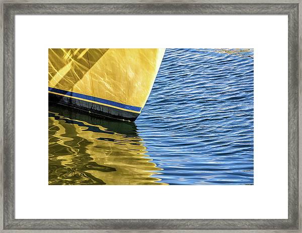 Maritime Reflections Framed Print