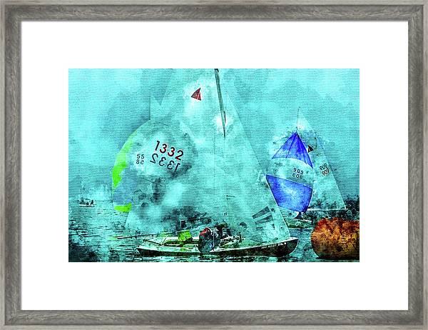 Maritime Number One Framed Print