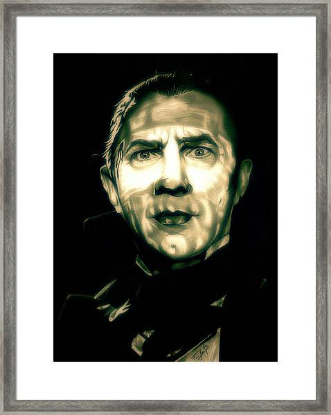 Mark Of The Vampire Framed Print