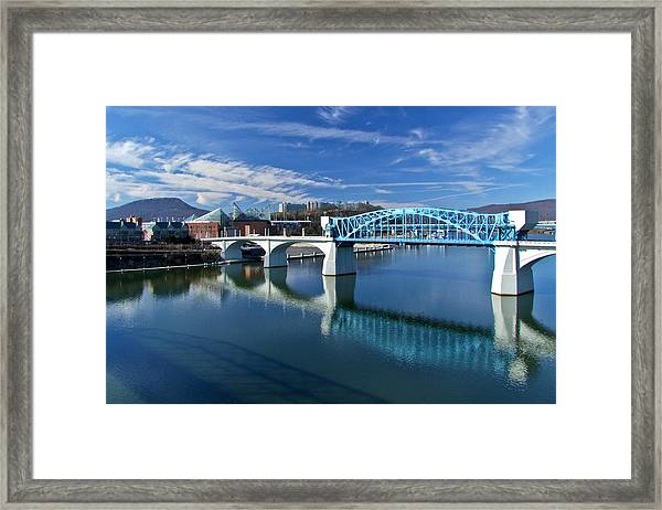 Market Street Bridge  Framed Print
