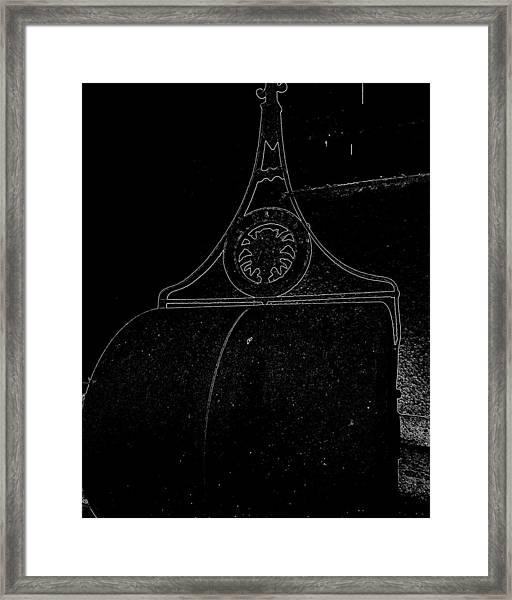 Marlboro Garden Roller Framed Print
