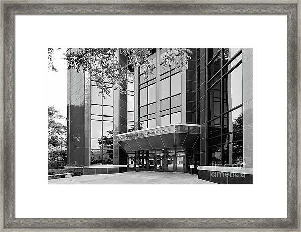 Marquette University Cudahy Hall Framed Print by University Icons