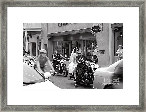 Marriage In Santa Fe Framed Print
