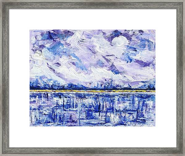 Marsh Madness Framed Print