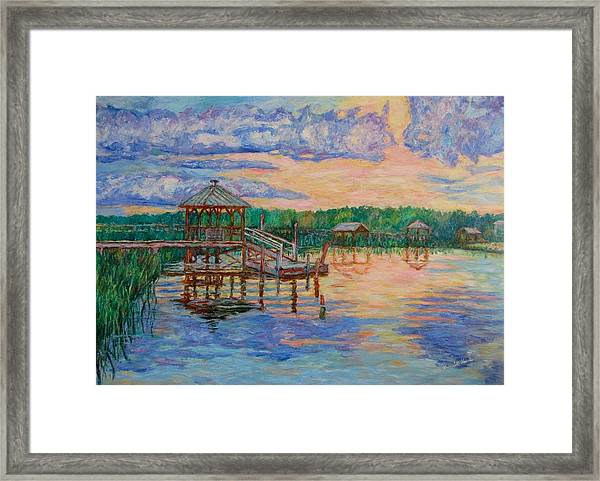 Marsh View At Pawleys Island Framed Print