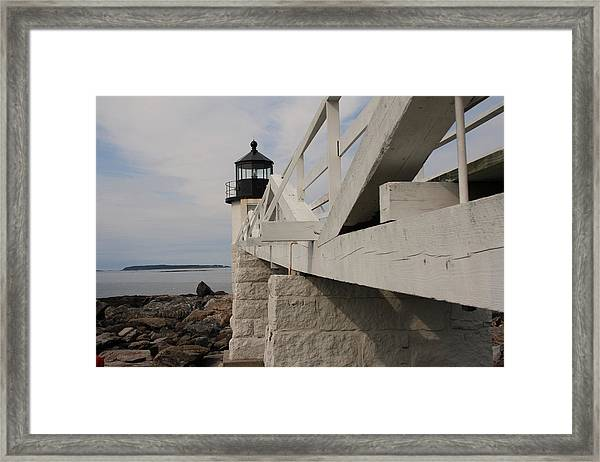 Marshall Point Framed Print