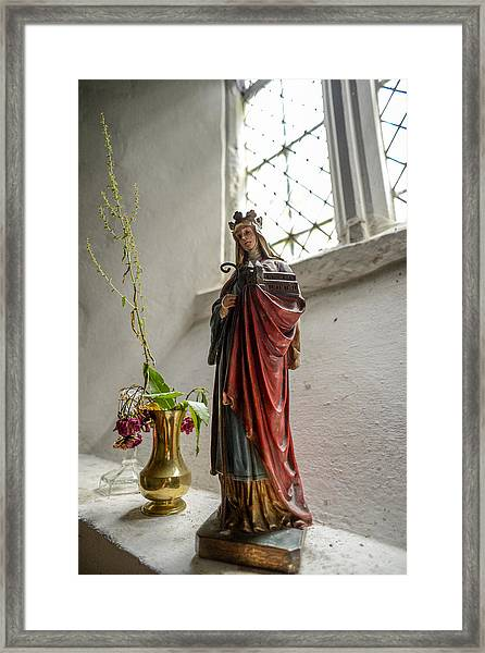Our Blessed Lady At St Margaret Of Antioch Framed Print