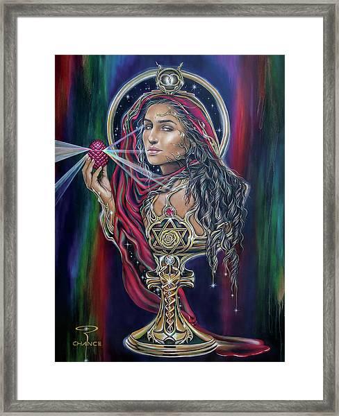 Mary Magdalen - The Holy Grail Framed Print