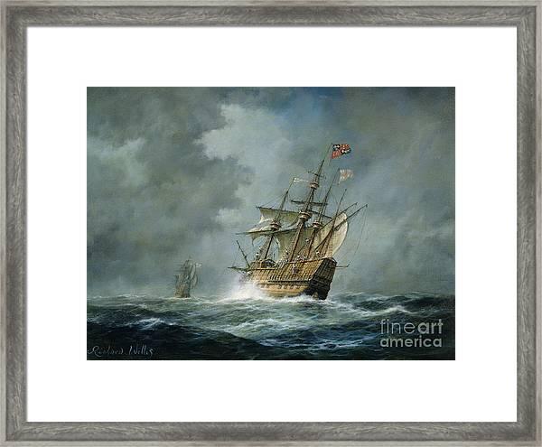 Mary Rose  Framed Print