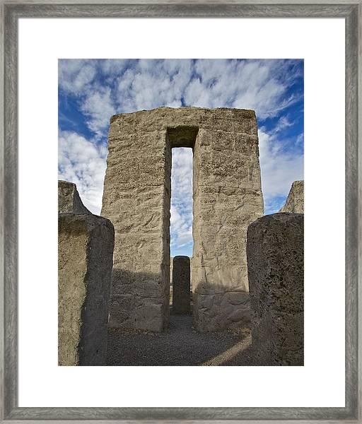 Maryhill Stonehenge 10 Framed Print