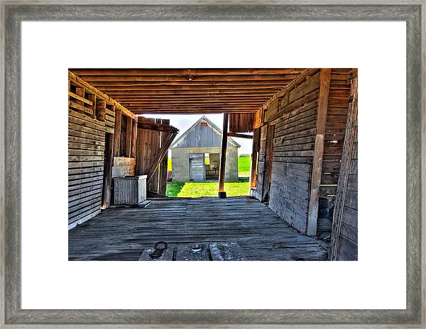 Maryland Barn Framed Print