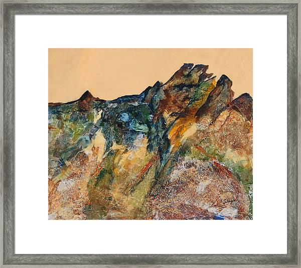 Mary's Mountain Framed Print