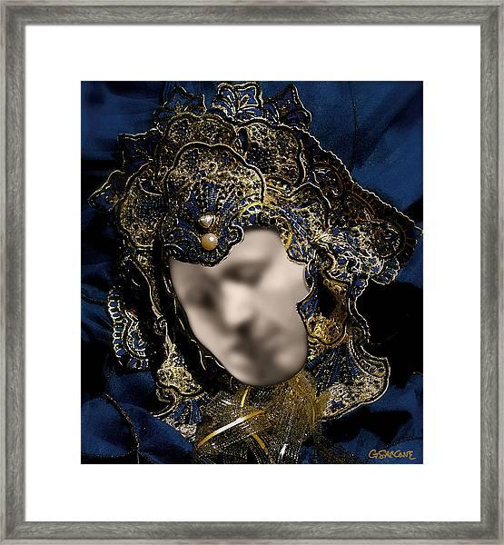 Mask Of Love Framed Print