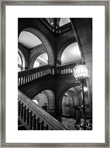 Masonry Framed Print by Jason Heckman