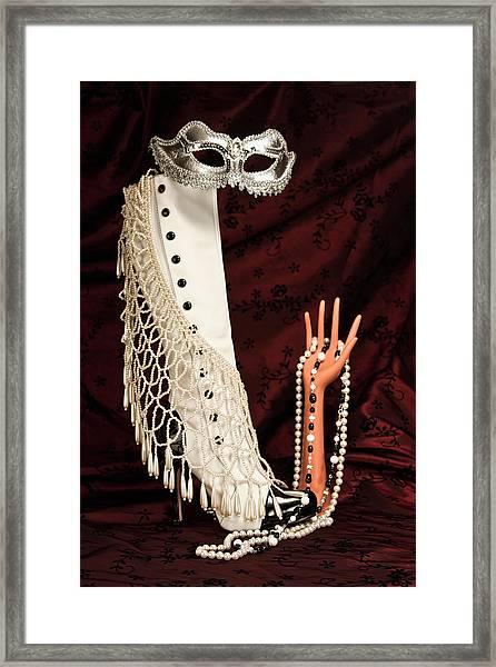 Masquerade Framed Print