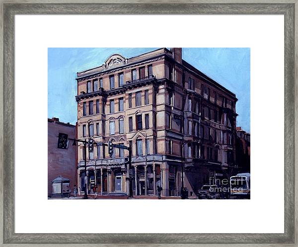 Mass Ave Beauty Framed Print