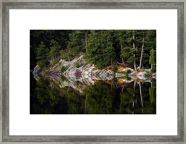 Massasauga Park Reflection Framed Print