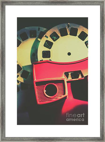 Master View Of Yesteryear  Framed Print