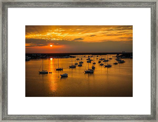 Matanzas Harbor Framed Print