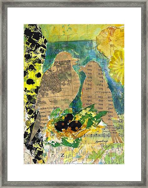 Mater And Pater Framed Print