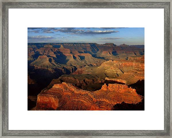 Mather Point - Grand Canyon Framed Print
