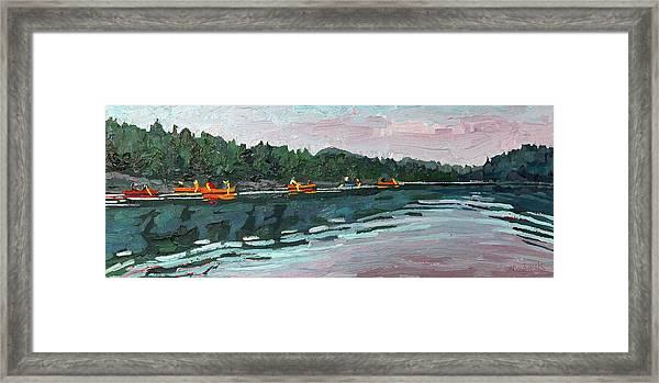 Mattawa Morning Framed Print