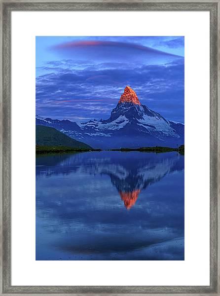 Matterhorn Sunrise Framed Print