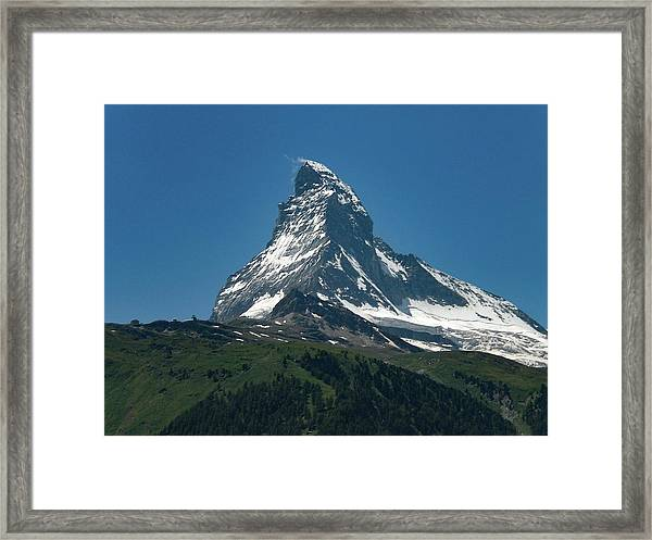 Matterhorn, Switzerland Framed Print