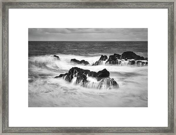 Maui In Turmoil Framed Print