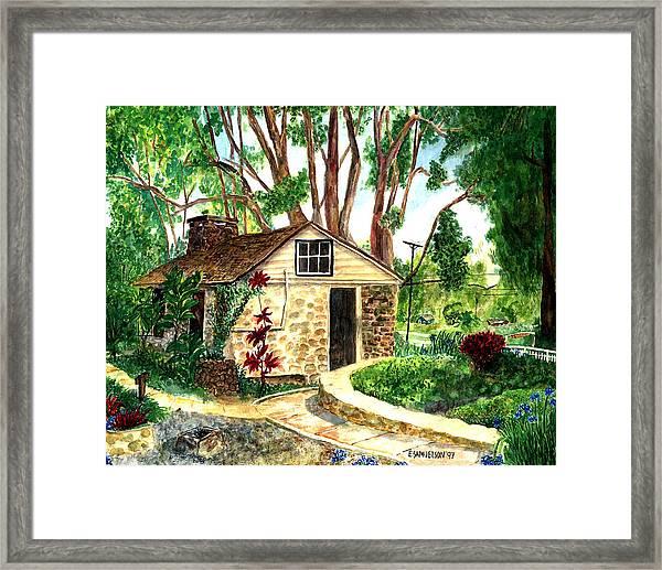 Maui Winery Framed Print