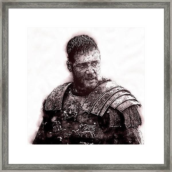 Maximus Decimus Meridius - 03 Framed Print