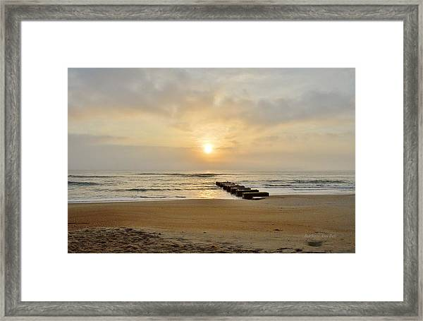 May 13 Obx Sunrise Framed Print