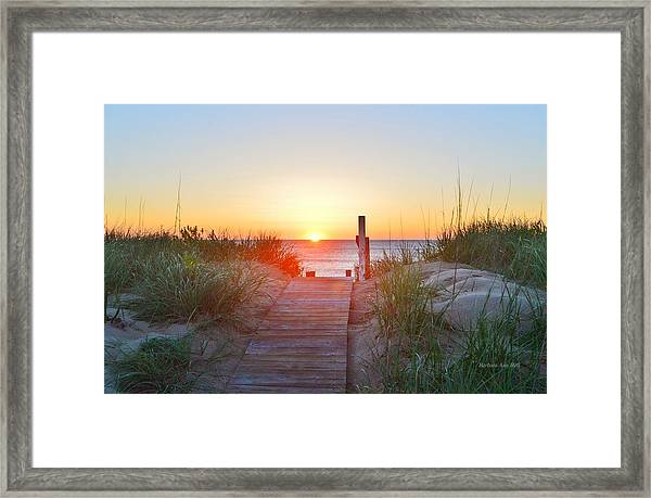 May 26, 2017 Sunrise Framed Print